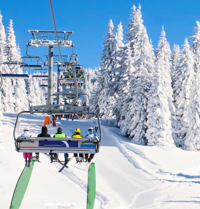 Woodside Kopaonik: Pogled sa ski gondole