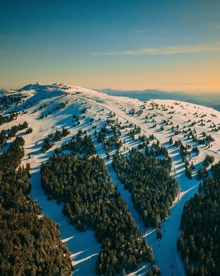 Srebrna planina Kopaonik: Ski staze