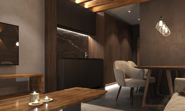 Woodside Kopaonik Residences: Jednosobni apartmani