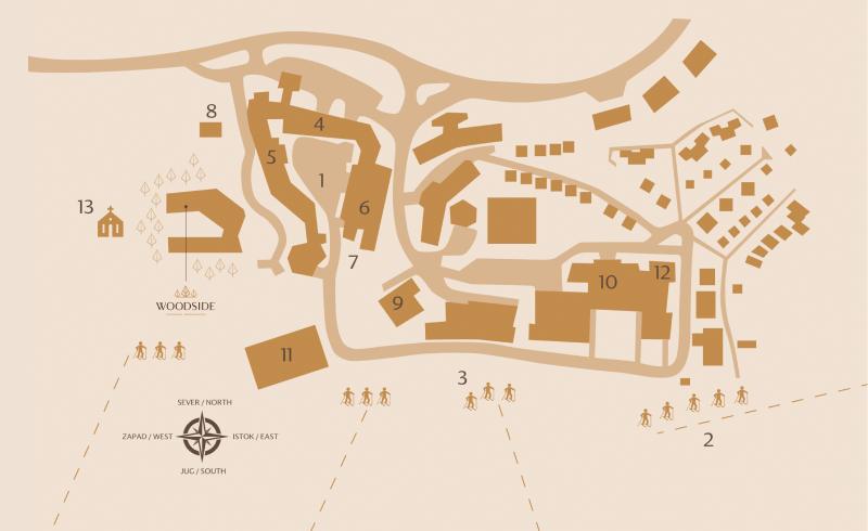 Klikni za uvećanje: Mapa Kopaonika